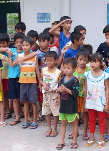 Das Waisenhaus Hoa Mai