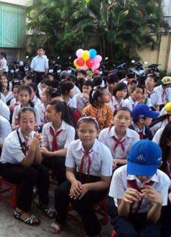 Escuela Le Binh en Can Tho
