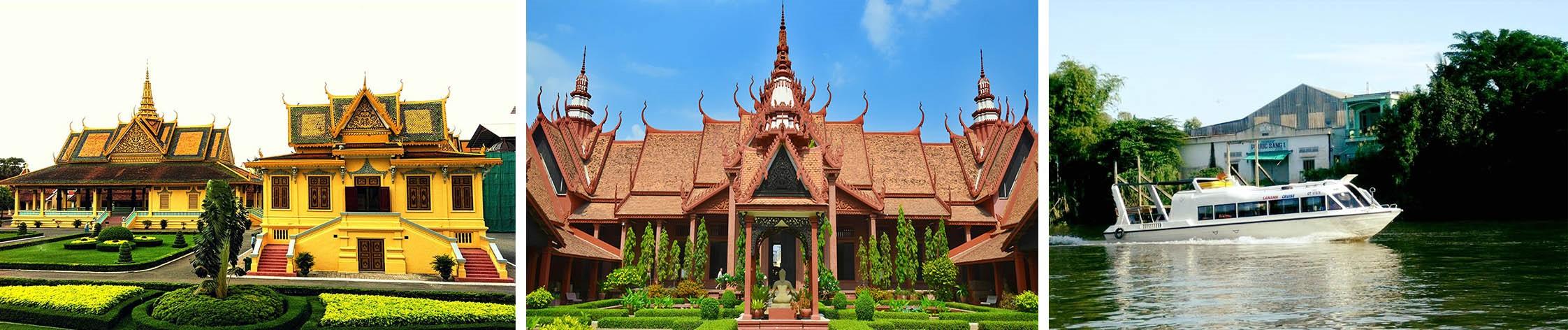 DÍA 6 : PHNOM PENH / CHAU DOC (visitas y 5 horas de barco sobre el Mekong) (D/A/C)