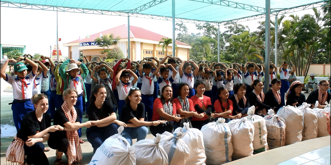 Clean-up and environmental awareness in Mekong Delta
