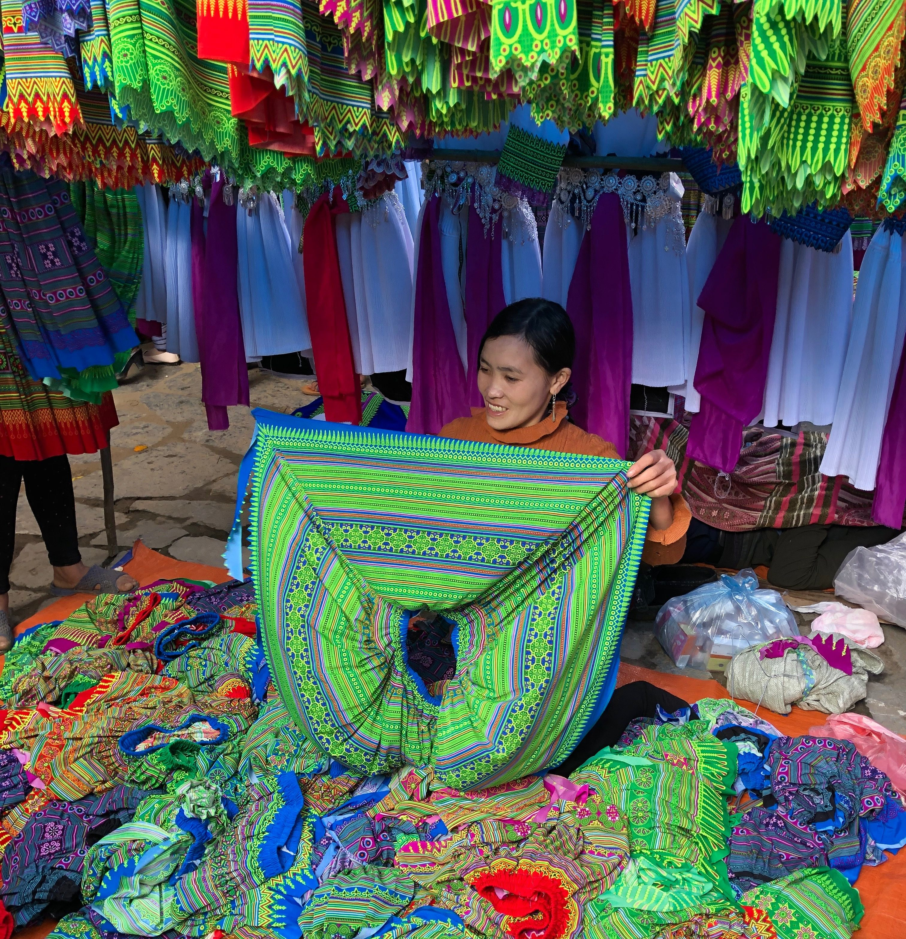 Visit Vietnam's colorful ethnic minority market in the mountains of Bac Ha